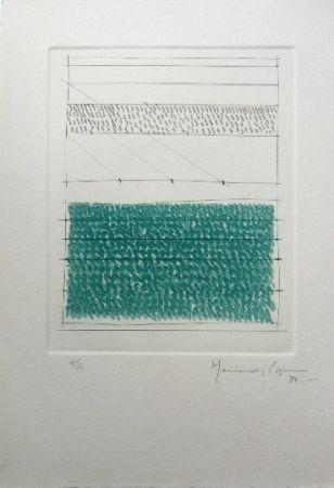 彫版 Hernandez Pijuan - Polychrome 1