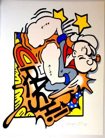 シルクスクリーン Crash - Popeye
