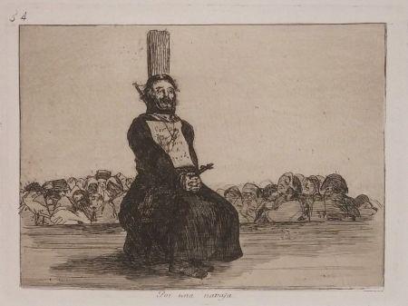彫版 Goya - POR UNA NAVAJA