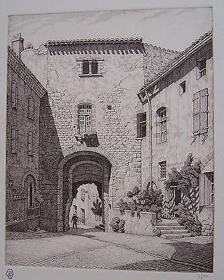 彫版 Strang - Porte des Ormeaux, Cordes