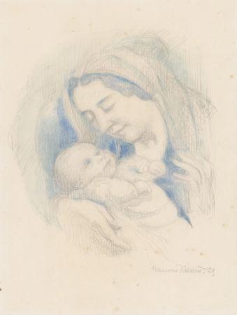 技術的なありません Denis - Portrait d'Antoine Poncet dans les bras de sa mère Anne-Marie