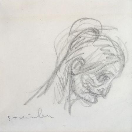 技術的なありません Steinlen - Portrait de femme