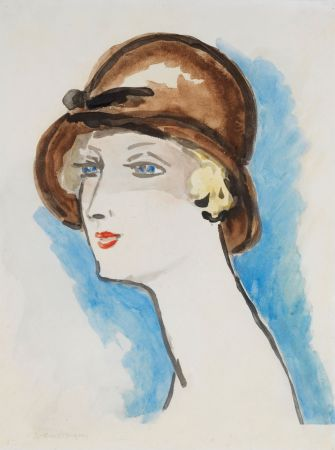 リトグラフ Van Dongen - Portrait de Femme, 1925-30