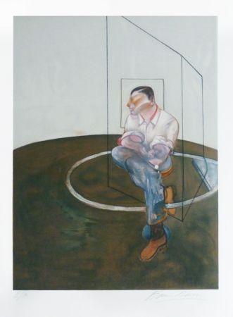 リトグラフ Bacon - Portrait de John Edwards
