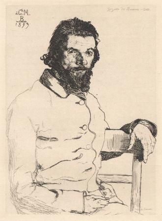 技術的なありません Bracquemond - Portrait De Meryon