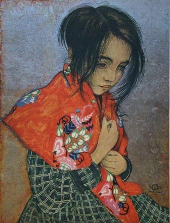 彫版 Sauer - Portrait d'enfant