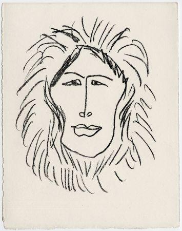 リトグラフ Matisse - Portrait d'homme esquimau n° 1. 1947 (Pour Une Fête en Cimmérie)