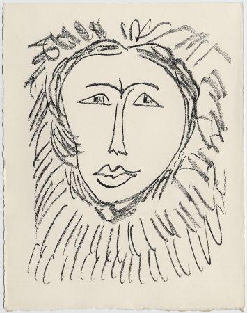 リトグラフ Matisse - Portrait d'homme esquimau n° 3. 1947 (Pour Une Fête en Cimmérie)