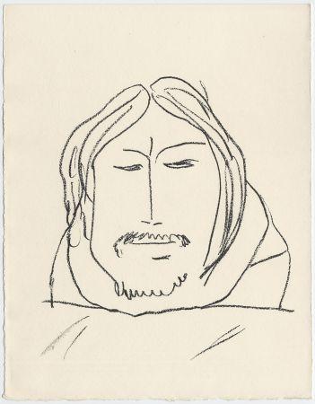 リトグラフ Matisse - Portrait d'homme esquimau n° 6. 1947 (Pour Une Fête en Cimmérie)