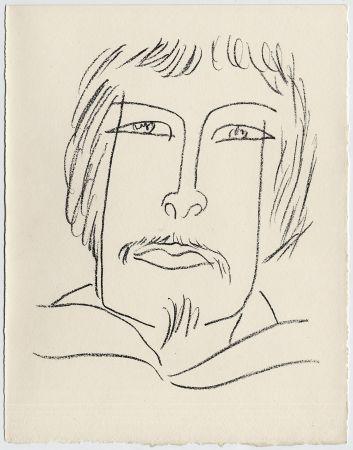 リトグラフ Matisse - Portrait d'homme esquimau n° 7. 1947 (Pour Une Fête en Cimmérie)