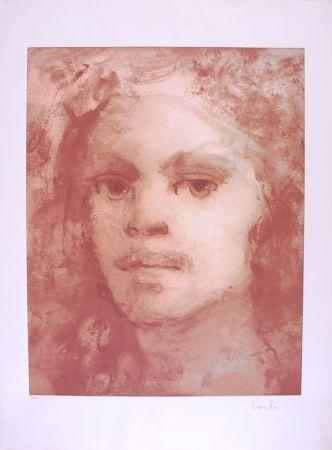 リトグラフ Fini - Portrait imaginaire