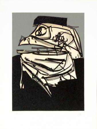 リトグラフ Saura - Portrait IX