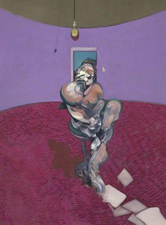 リトグラフ Bacon - Portrait of George Dyer Talking