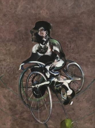 多数の Bacon - Portrait of Georges Dyer Riding a Bicycle
