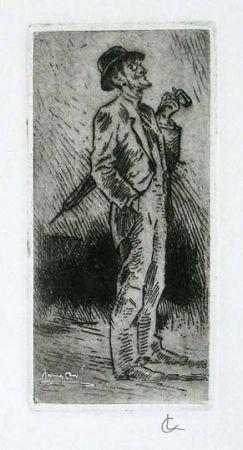 彫版 Conconi - Portrait of Giuseppe Brentano