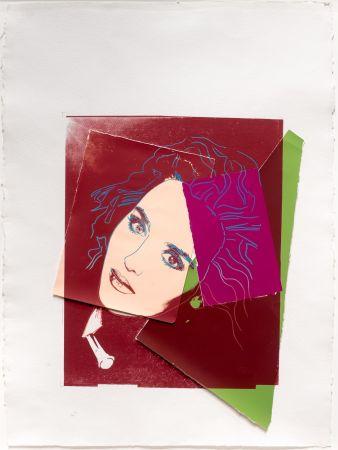 シルクスクリーン Warhol - Portrait of Isabelle Adjani