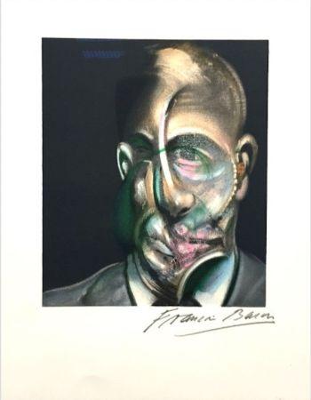 リトグラフ Bacon - Portrait of Michel Leiris