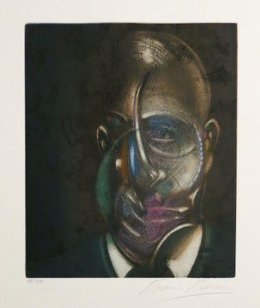 アクチアント Bacon - Portrait of Michel Leiris