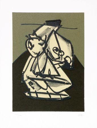 リトグラフ Saura - Portrait VII