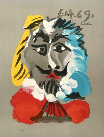 リトグラフ Picasso - Portraits Imaginaires 5.6.4.69