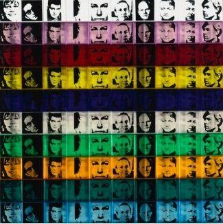 シルクスクリーン Warhol - Portraits of the Artists