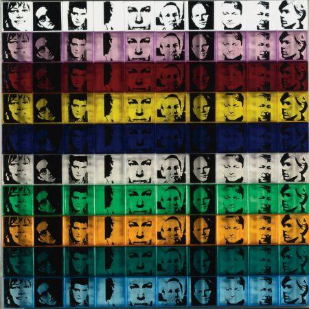 シルクスクリーン Warhol - Portraits of the Artists (FS II.17)