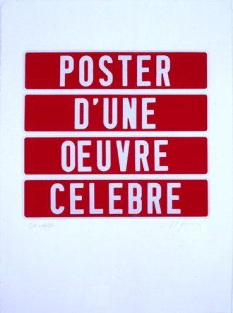 シルクスクリーン Ducorroy - Poster d'une oeuvre célèbre