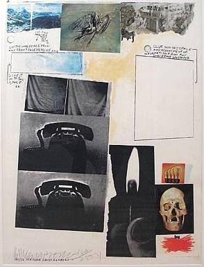 シルクスクリーン Rauschenberg - Poster for Peace