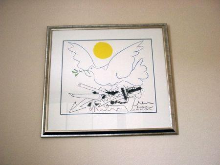 リトグラフ Picasso - Poster For World Congress For General Disarmament And Peace