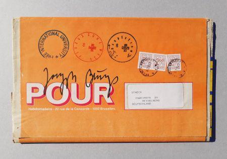 シルクスクリーン Beuys - POUR