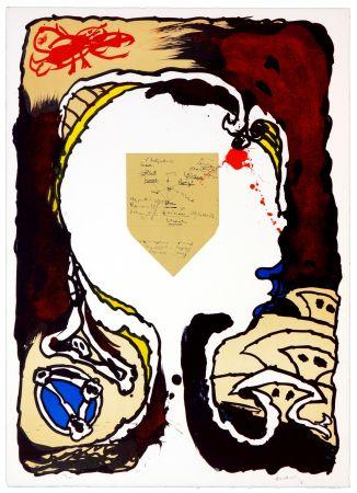 リトグラフ Alechinsky - Pour Jorn