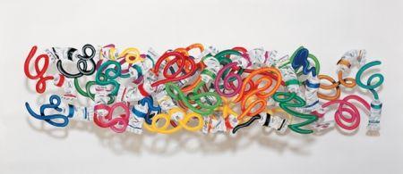 リトグラフ Gerstein - Primary colours