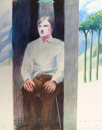 リトグラフ Hockney - Prisoner