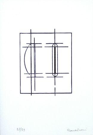 リノリウム彫版 Bonalumi - Progetto