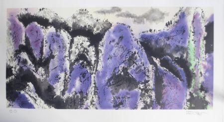 リトグラフ Po Chung - Prosperous purple