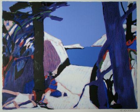 リトグラフ Godard - Provence