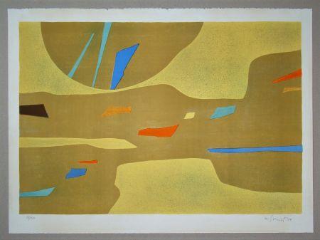 リトグラフ Singier - Provence grande lumière