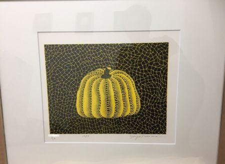 リトグラフ Kusama - Pumpkin