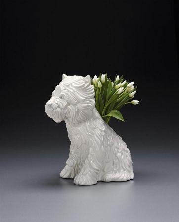技術的なありません Koons - Puppy Vase