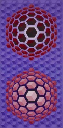 多数の Vasarely - Purple long