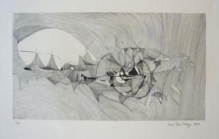 彫版 Berge - Quadrige