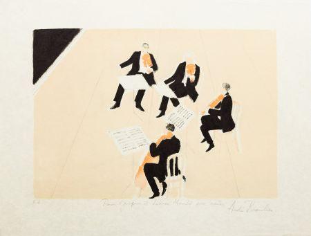 リトグラフ Brasilier - Quatuor
