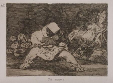 彫版 Goya - QUE LOCURA!