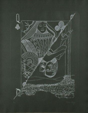 彫版 Ray - Queen of Spades