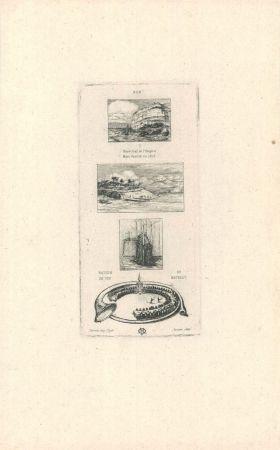彫版 Meryon - Rébus:  (
