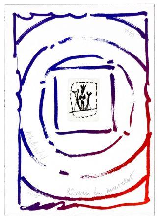 リトグラフ Alechinsky - Rêverie du matelot I