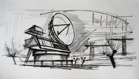 リトグラフ Buffet - Radar Station, Siemens