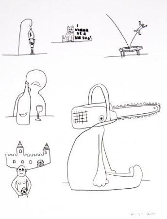 リトグラフ Breuning  - Random thoughts about life 10