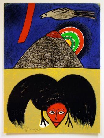 リトグラフ Corneille - Raven No. 4