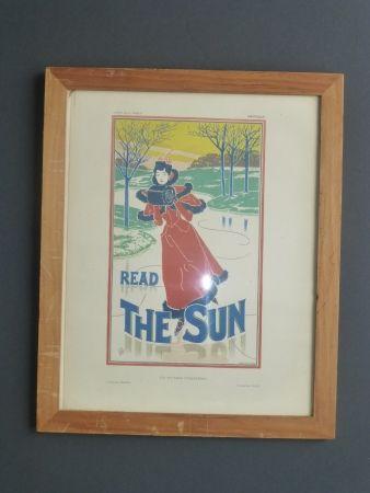 リトグラフ Read - Read the sun